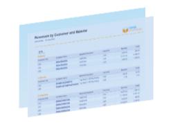 Exemple de rapport Facturation SD