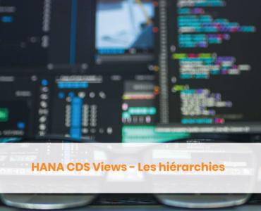 Hiérarchie CDS Views