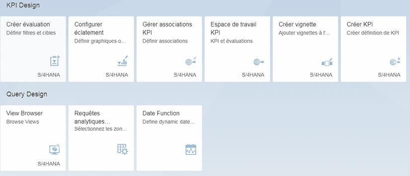Query Design et KPI Modelling Tool