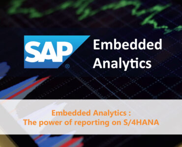 SAP Embedded Analytics reporting S4HANA