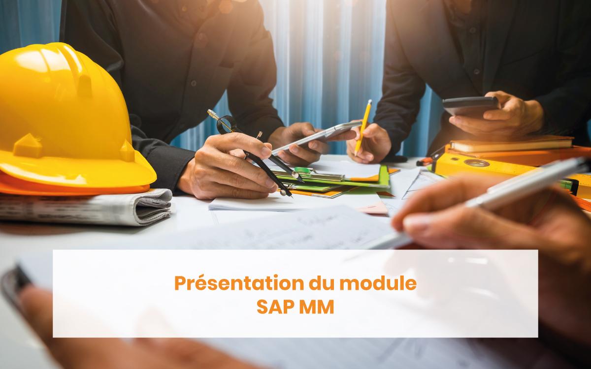 Présentation module SAP MM