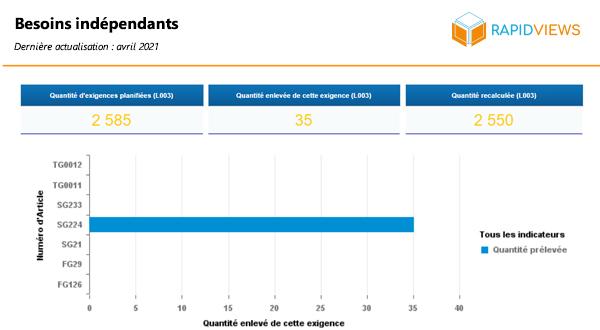 Rapport SAP PP Besoins indépendants