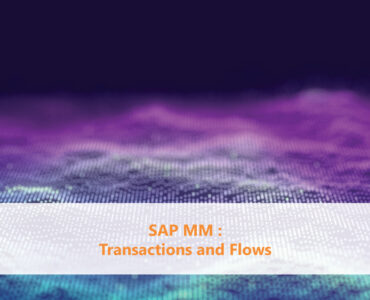 SAP MM Transactions and Flows