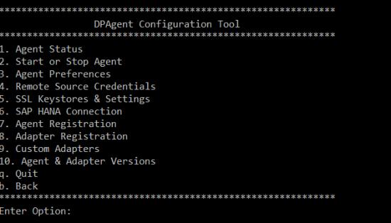 Configuration du DPA étape 3
